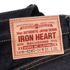 Iron Heart 634s 14oz 10% off