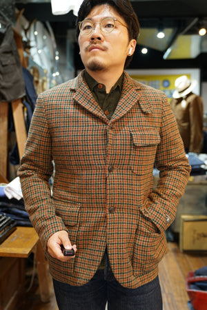 Nigel Cabourn MODIFIED MALLORY JACKET  WASHABLE WOOL 30% OFF