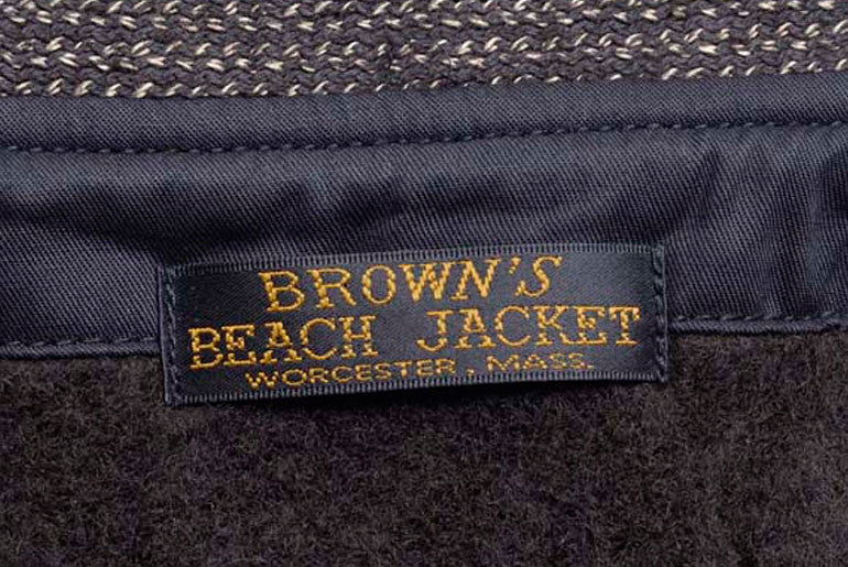 FullCount Brown's Beach Tailored Jacket