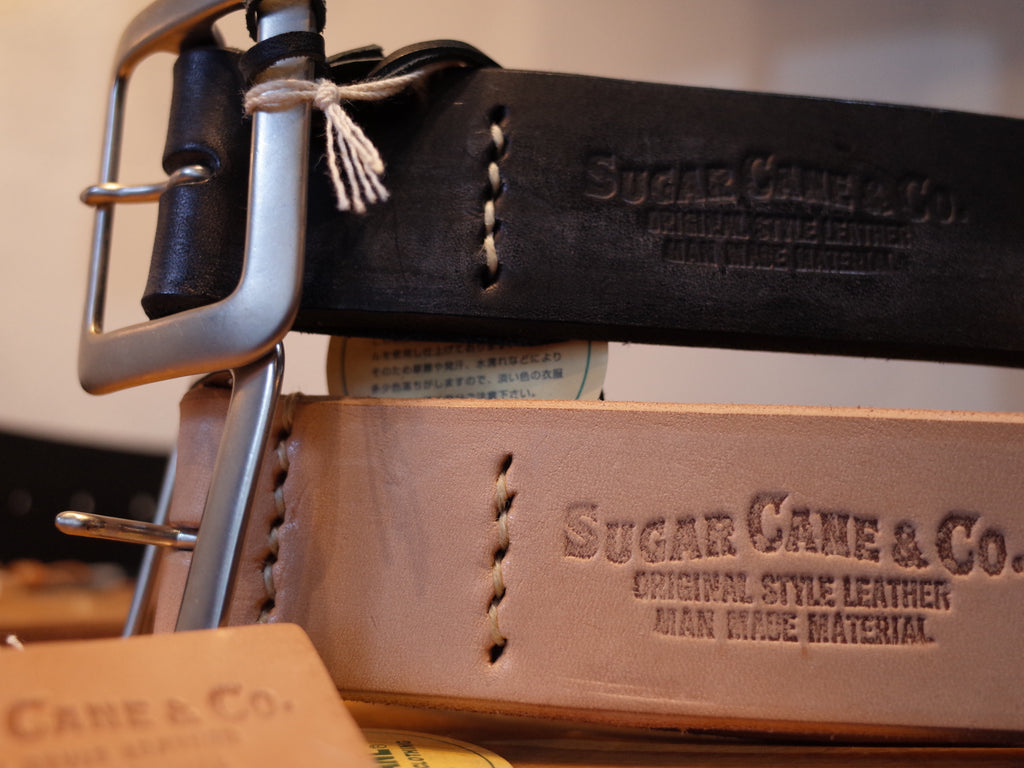 SugarCane Leather Belt