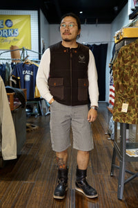Buzz Rickson's wool vest 20% Off