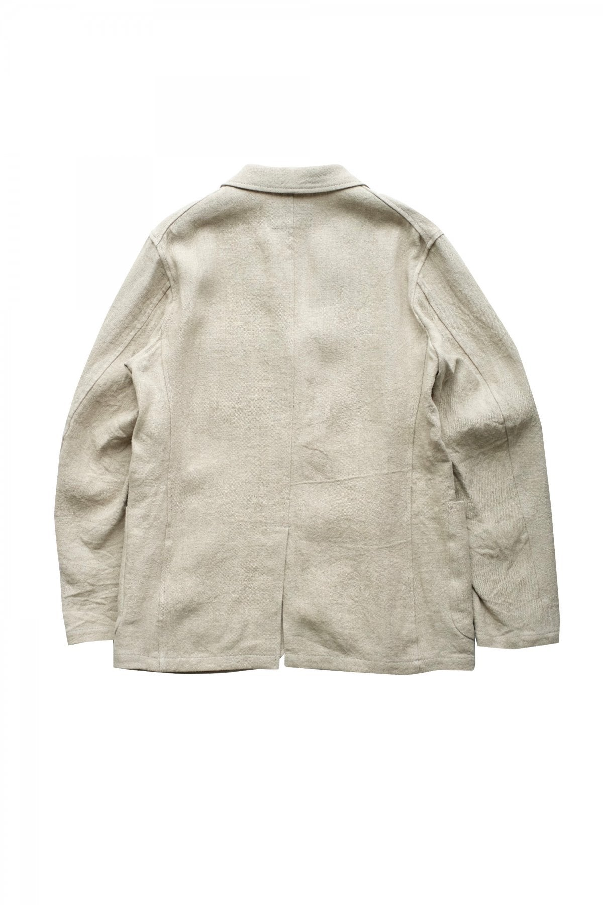 Nigel Cabourn - HOSPITAL JACKET - FRENCH LINEN IVORY