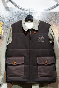 Buzz Rickson's wool vest 15% Off