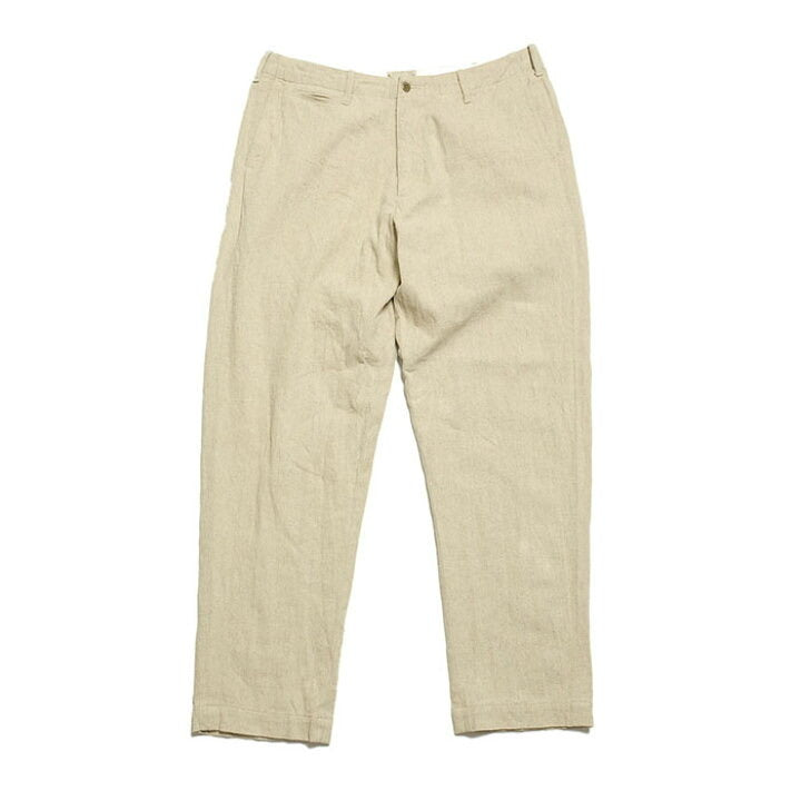 Burgus plus linen cotton military trousers