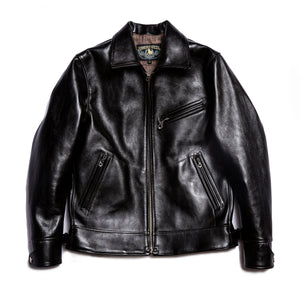 Double Helix horsehide jacket