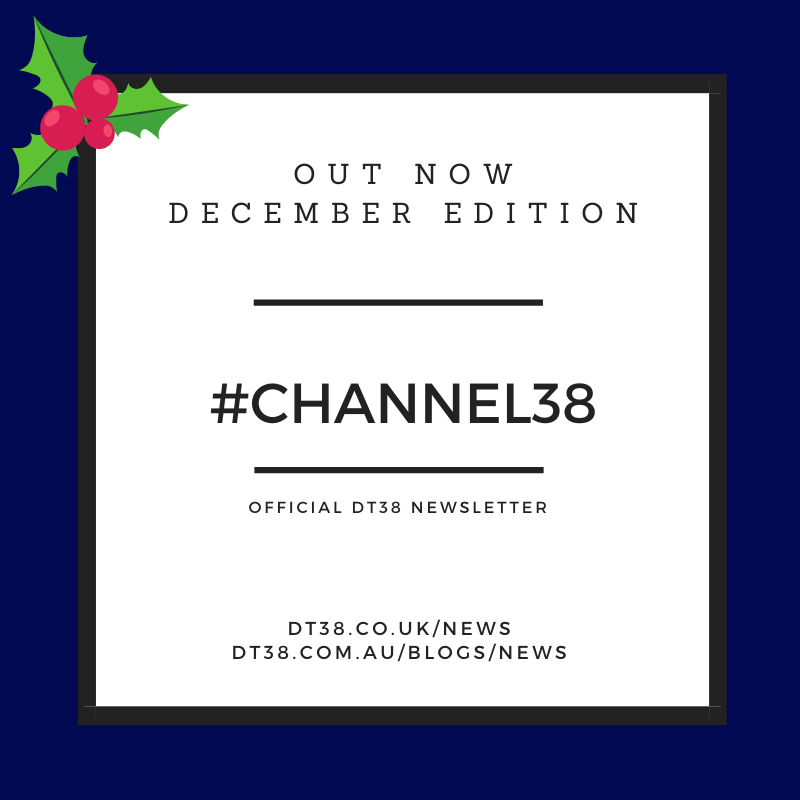 DT38 Newsletter 'Channel38' - December 2020