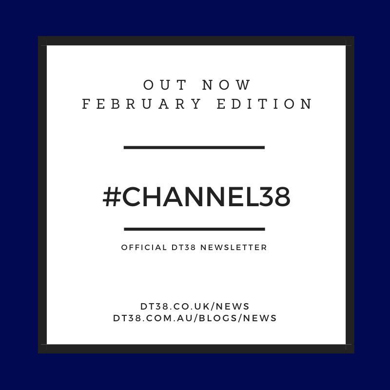DT38 Newsletter 'Channel38' - February 2021
