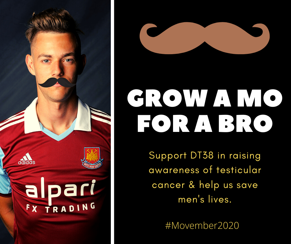 Tash-tastic! Grow a Moustache & Help DT38 in November