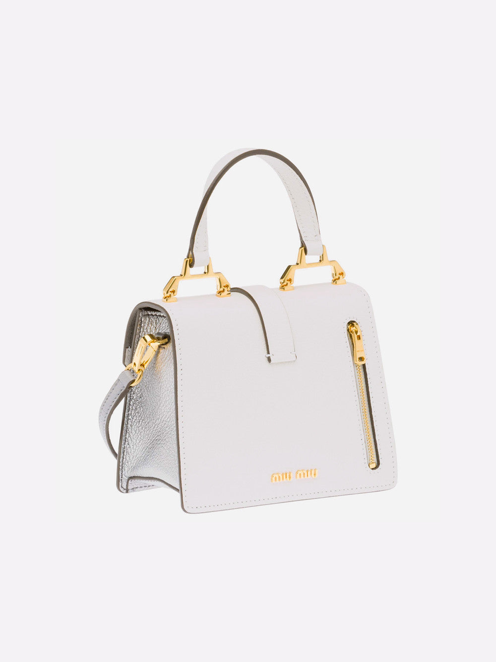 Top Handle Bag - Grey
