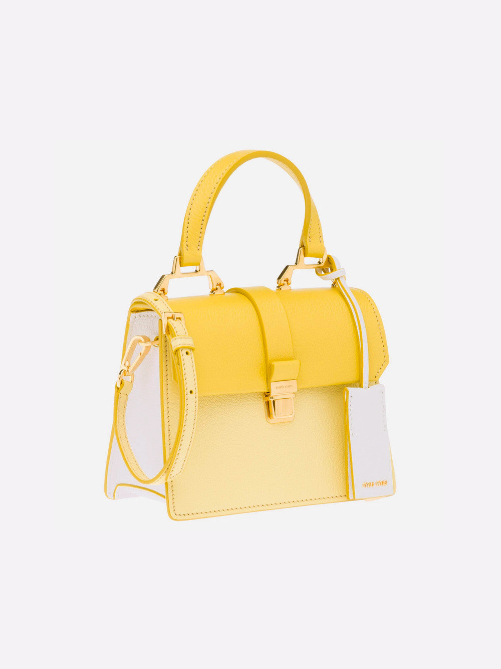 Top Handle Bag - Yellow