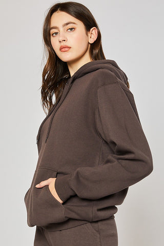 Sweatshirt-Deep Brown