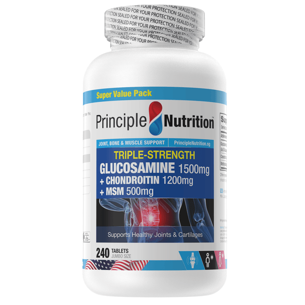 Triple Strength Glucosamine (240s) - HealthPasar