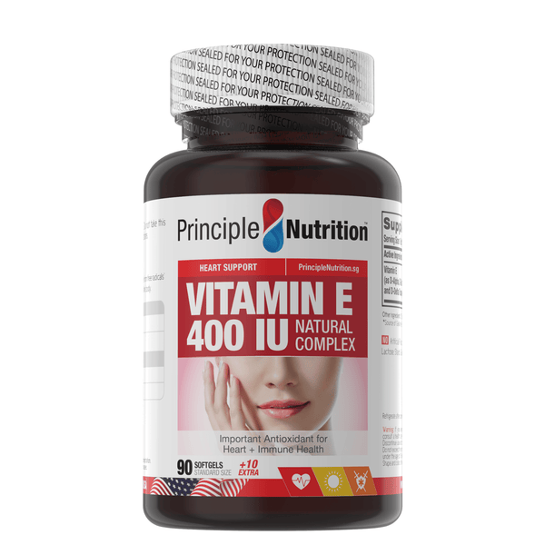 Vitamin E 400 IU Natural Complex (100s)