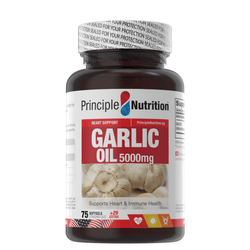 Principle Nutrition Garlic Oil 5000mg | 100S