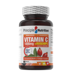 Vitamin C 1000mg Time Release + Rosehips (60s)