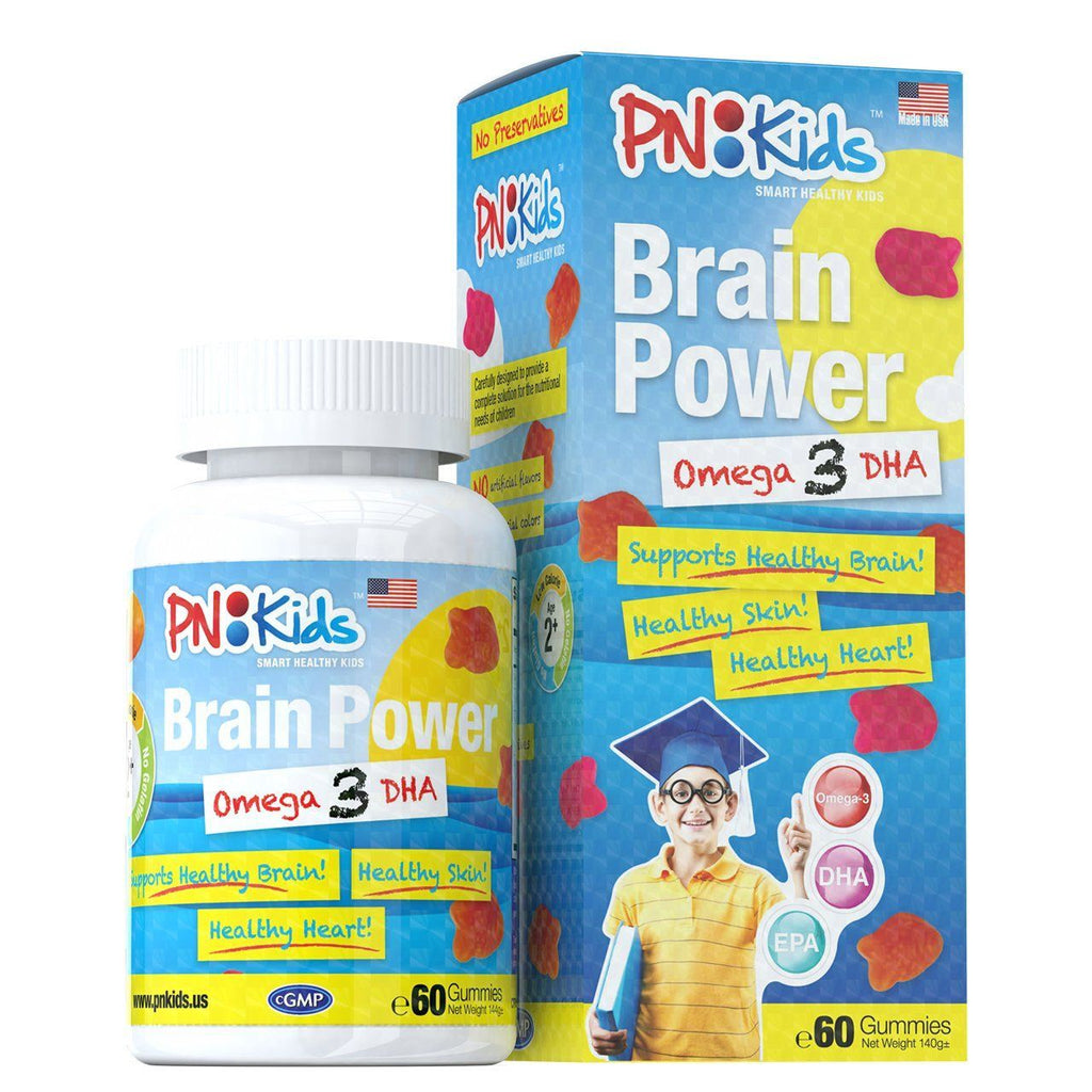 Brain Power Omega 3 DHA (60s) - HealthPasar