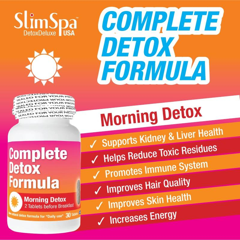 Detox Deluxe AM/PM 60s - HealthPasar