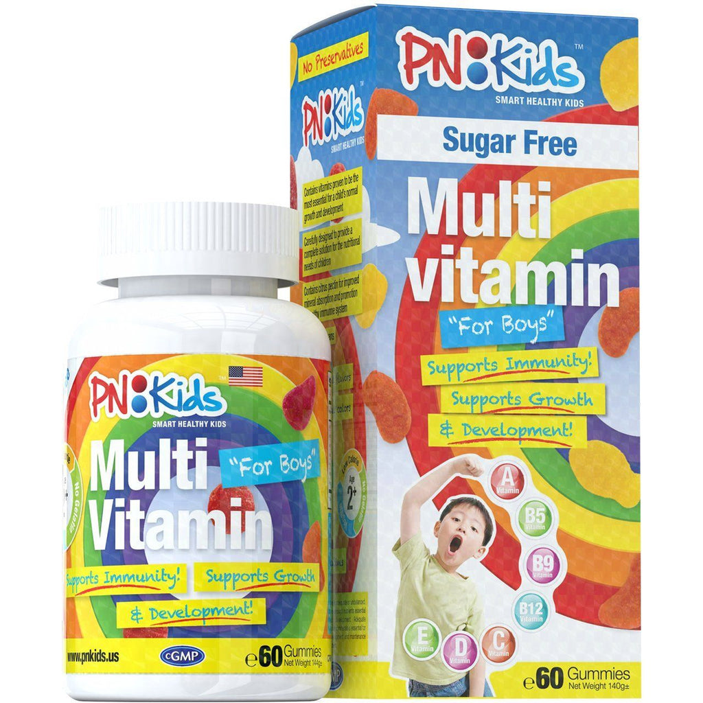 Multi Vitamins Sugar Free for Boys (60s) - HealthPasar