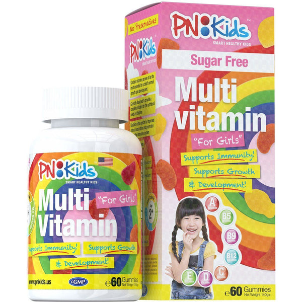 Principle Nutrition PNKids Sugar Free Gummies For Girls - 1