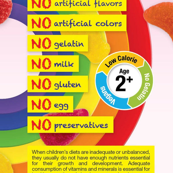 Principle Nutrition PNKids Sugar Free Gummies For Girls - 4