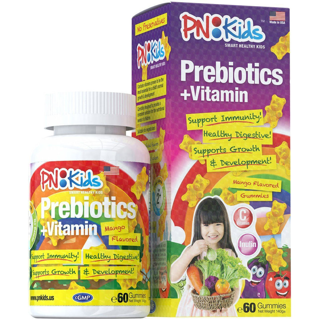 Prebiotics for Kids + Vitamins (Mango Flavor) 60s - HealthPasar