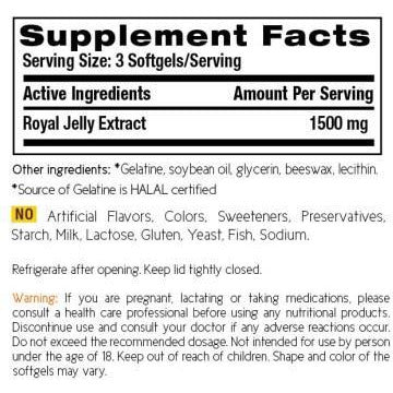 Pure Royal Jelly Ex 1500mg (120s) - HealthPasar