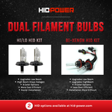 Bi-Xenon HID Bulbs (Pair) - Relay Included