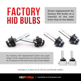D4R/D4S FACTORY HID REPLACEMENT BULBS (PAIR)