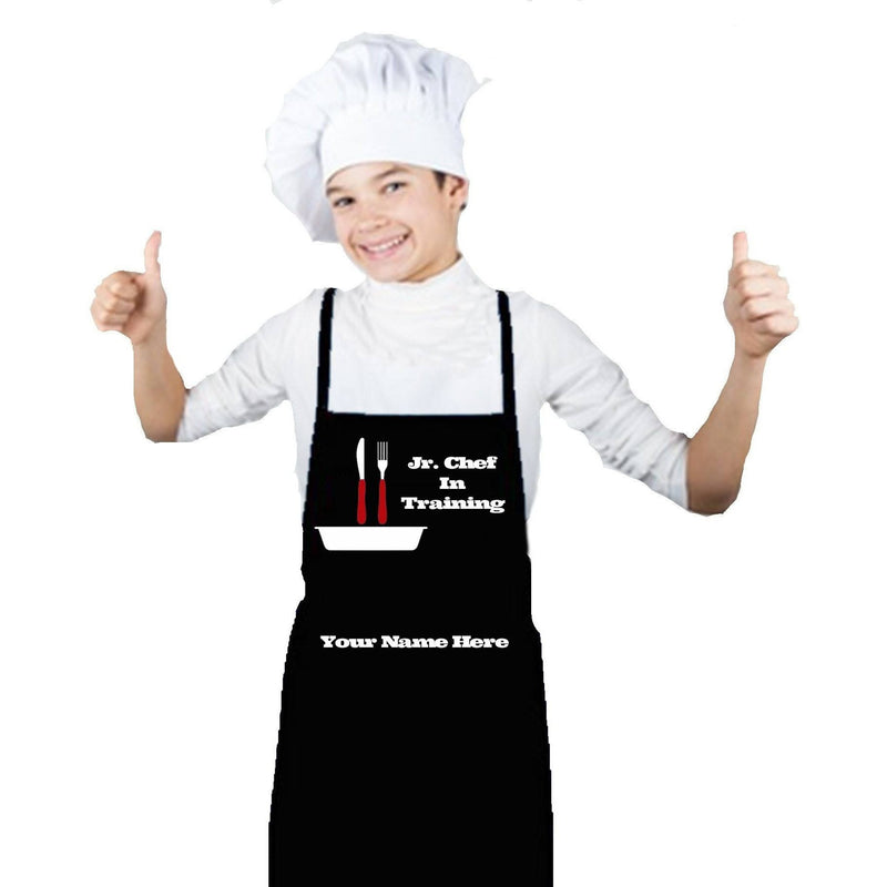 Apron - Jr. Chef In Training Personalized Apron