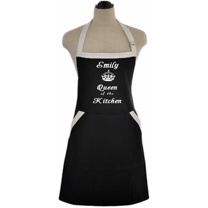 Queen Of The Kitchen Custom Apron