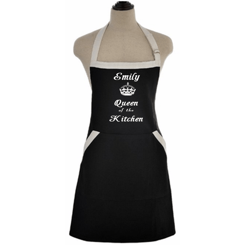 Apron - Queen Of The Kitchen Custom Apron