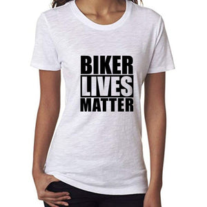 Biker Lives Matter Biker Girl T Shirt
