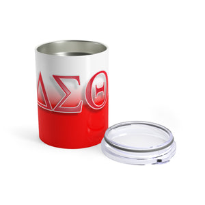 Delta Sigma Theta Sorority 10oz Stainless Steel Tumbler