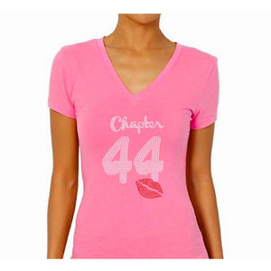 Birthday Chapter Rhinestone Bling T-Shirt