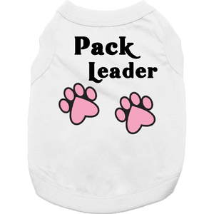 Pack Leader Doggy T Shirt Xs / Pink Dog Shirts