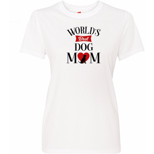 Worlds Best Dog Mom T Shirt