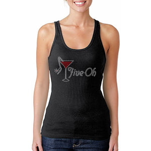 Five-Oh Rhinestone Celebration Tank Top