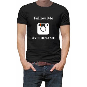 Follow Me Instagram T Shirt