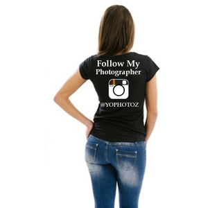 Follow My Photographer Instagram T Shirt