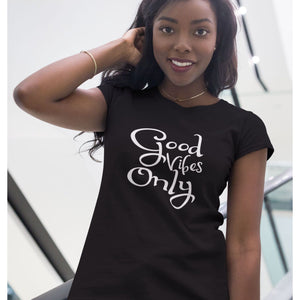 Good Vibes Only Inspirational T-Shirt