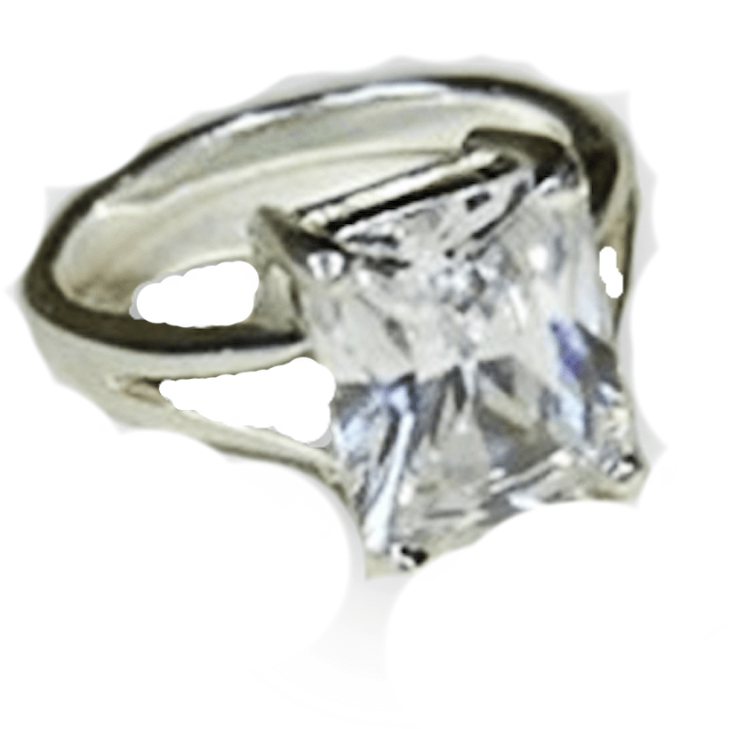 Rings - Diamond Cut Cubic Zirconia  Ring