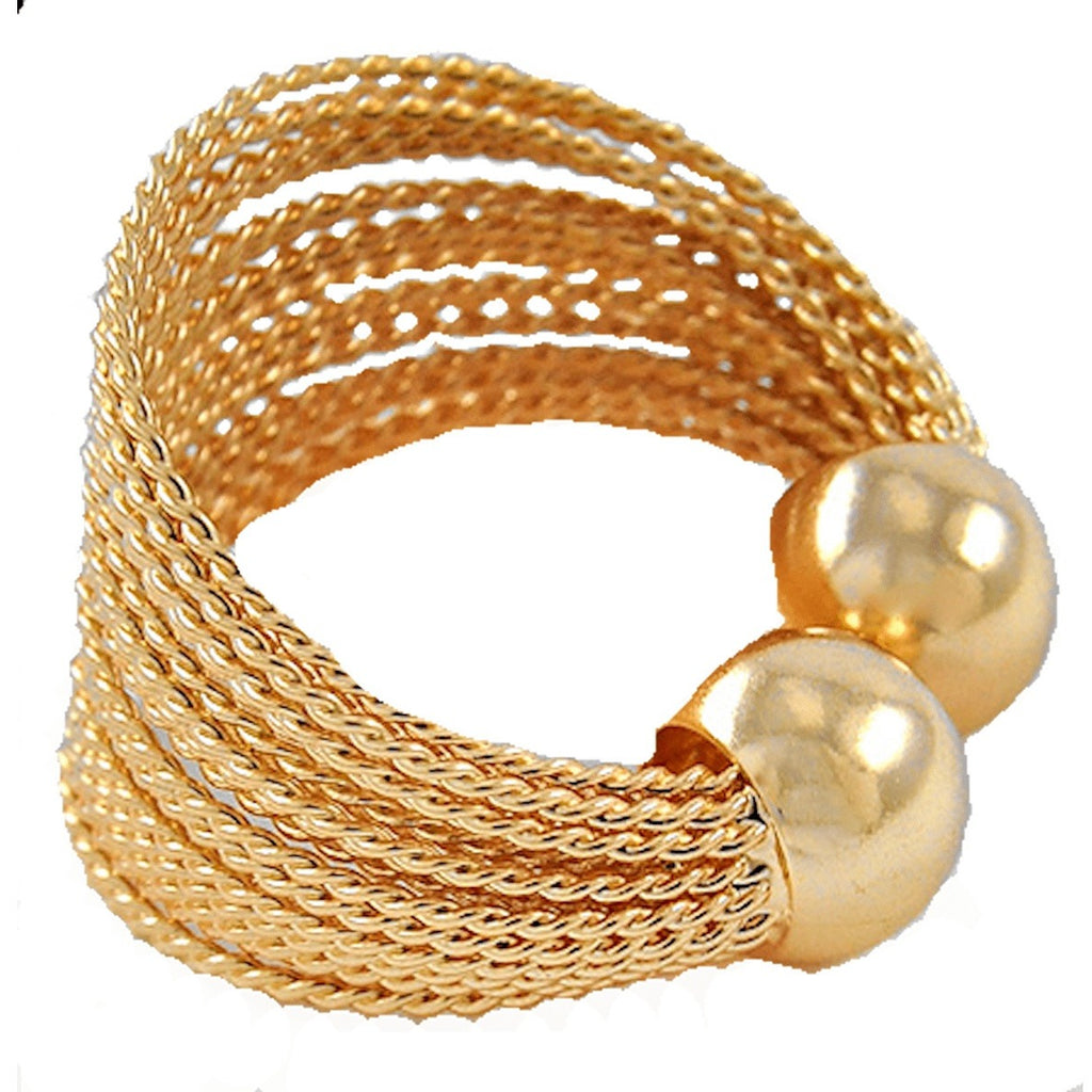 Rings - Multi Strand Cuff Ring
