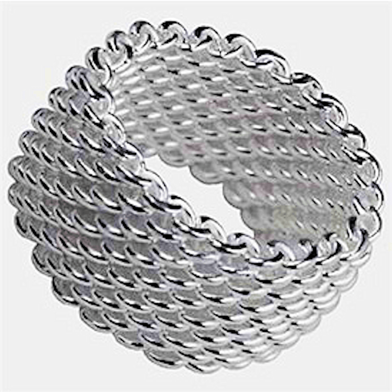 Rings - Sterling Silver Mesh Ring
