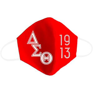 Sorority and Fraternity Themed Masks