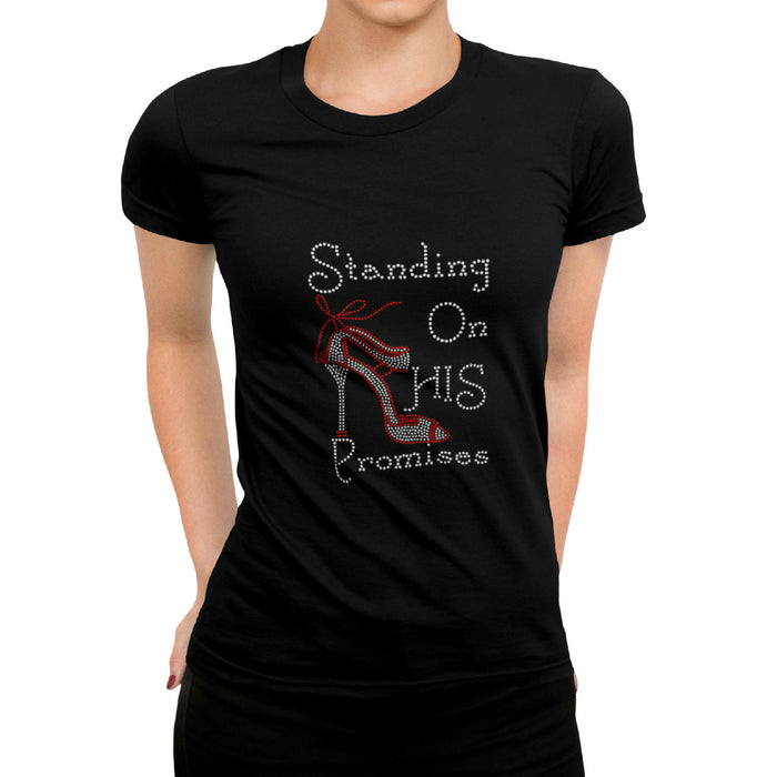 Standing On His Promises Rhinestone T-Shirt