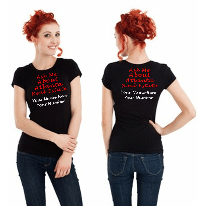 T Shirts - Ask Me About Real Estate Women's T Shirt