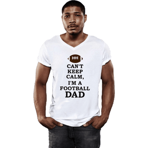 Can't Keep Calm Football Dad T Shirt