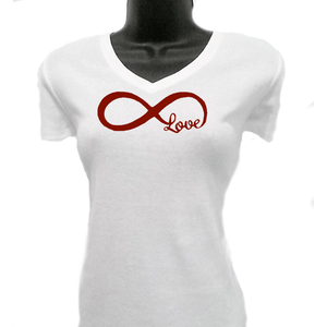 Love Infinity Womans T Shirt T Shirts