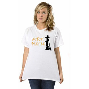 Witch Please Halloween Tee