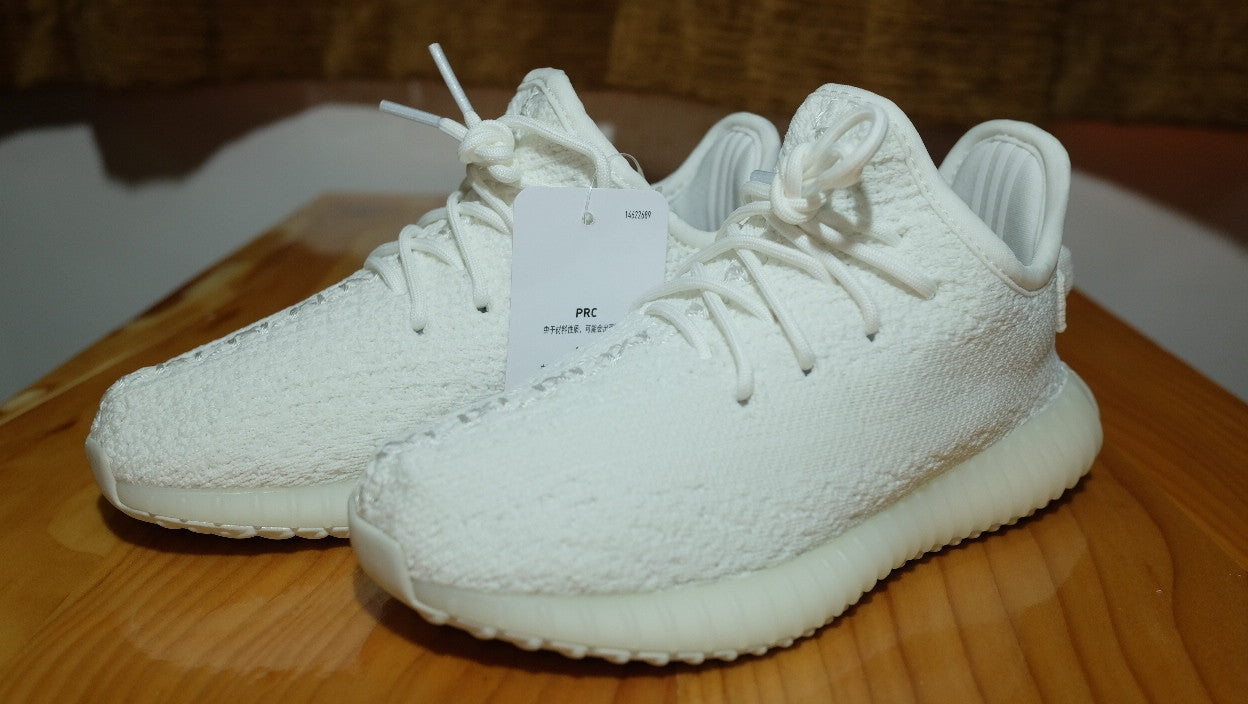 1b93627345381 Yeezy Boost 350 Low V2 Infant   Cream White   size 10K(US) – Dark Sole